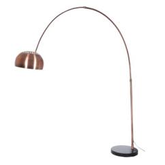 Lampe arc métal cuivre